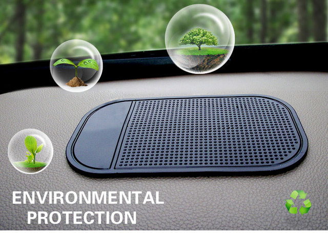 2018 Automobiles Interior Accessories for Mobile Phone  Pad GPS Silica Gel Anti Slip Car Sticky Anti-Slip Mat Car Styling