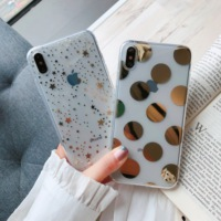 Luxury Mirror Phone Case For iPhone 7 8 Plus 6 6s Case Small Star For Iphone XR X XS MAX Case Silicone Soft Back Cover Fundas