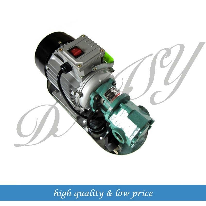 WCB-50 Cast Iron Lubrication Oil Transfer Gear Pump wcb 100 cast iron portable electric gear thermal heavy oil pump