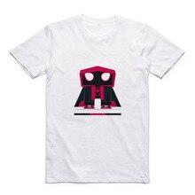 New Cartoon Pattern Spider-Man / Spider-Gwen Gundam Street Casual Printing Mens Modal Shirt