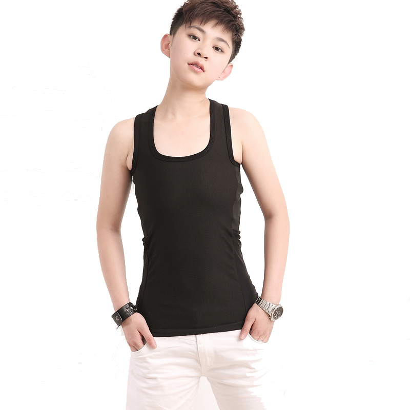 Summer Tank Tops Tomboy Clothes Flat Breast Binder For