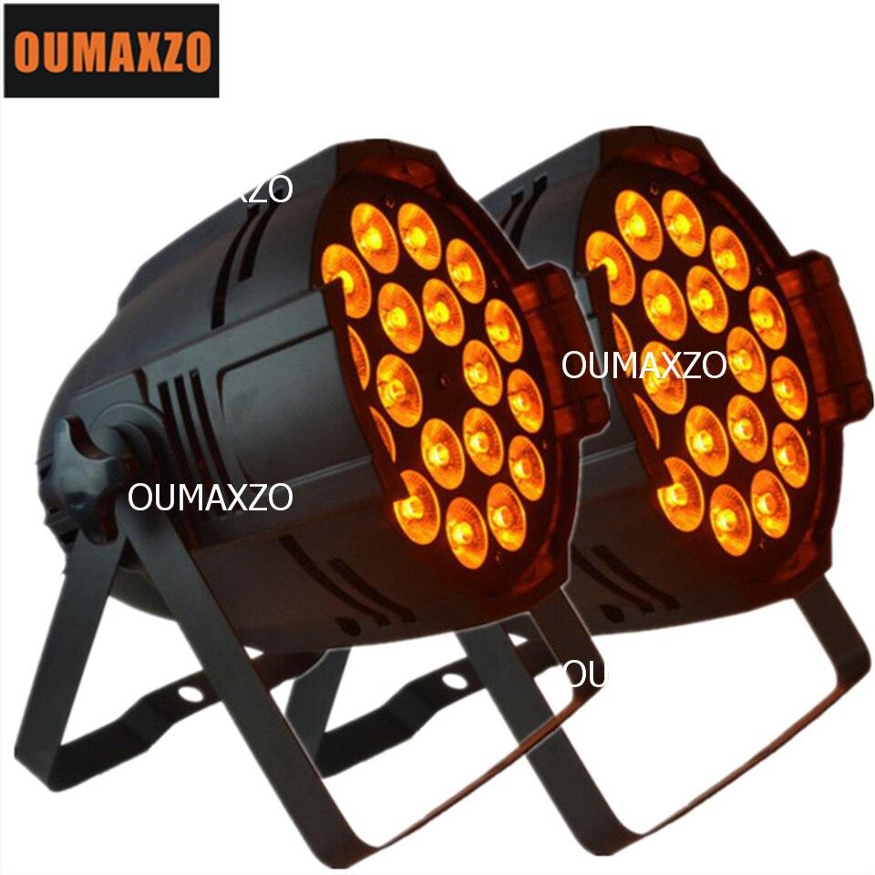 2pcs/lot rgbw 5in1 18pcs led par 18pcs 15wRGBWA LED Par Light 5in1 18pcs Par Led Par Light Stage Lighting 5in1 RGBWA 18x15w LED