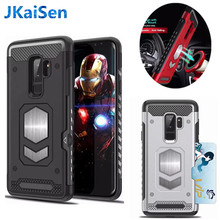 For Samsung Galaxy S7 EDGE S8 S9 S10 Plus Lite NOTE 5 8 9 Magnetic Armor Case for A5 J3 J5 J7 2017 A7 A9 A6 A8 Plus J4 J6 2018(China)