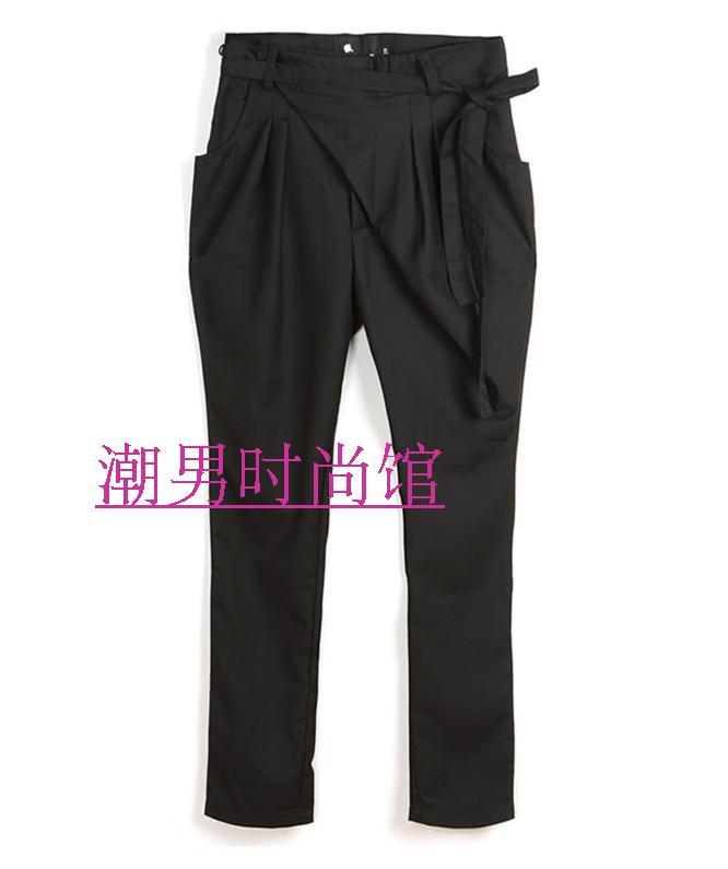 Pants Placket Slim GD Men's Haren Fashion Plus-Size NEW The 27-44 Autumn Spring Costumes