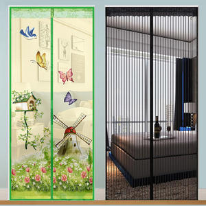 Curtain-Mesh Door-Net Insect Anti-Mosquito Magnetic for Anti-Fly Hands-Free