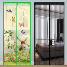 Mosquito net for door Magnetic Mosquito net door Automatic closing Anti fly insect mosquito mesh on door