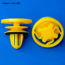 Shhworldsea auto ตัวยึด retainer สีเหลืองสีค้นหาคลิป