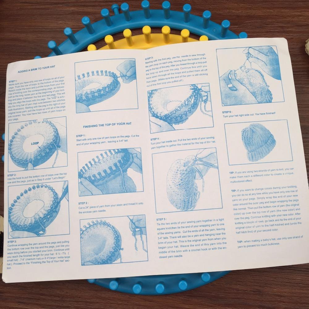 Envío libre colorido telar circular 4 tamaños 14 cm, 19 cm, 24 cm ...