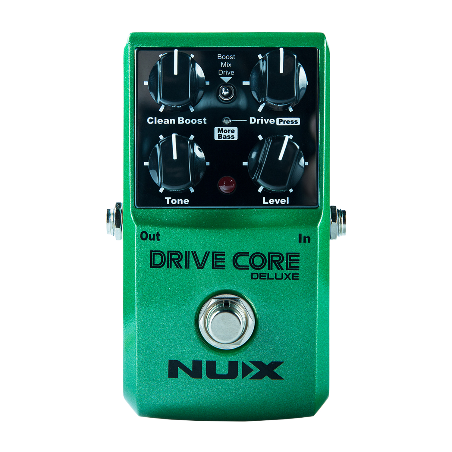 nux drive core deluxe guitar effect pedal best fully functioned drive pedal 3 modes booster. Black Bedroom Furniture Sets. Home Design Ideas