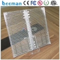 Leeman Transparent Glass Led p10 p12 board Display module / full color screen p6 p7 Illuminated signs