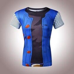 Classic anime dragon ball z super saiyan 3d t shirt tees cartoon vegeta armour t shirts.jpg 250x250