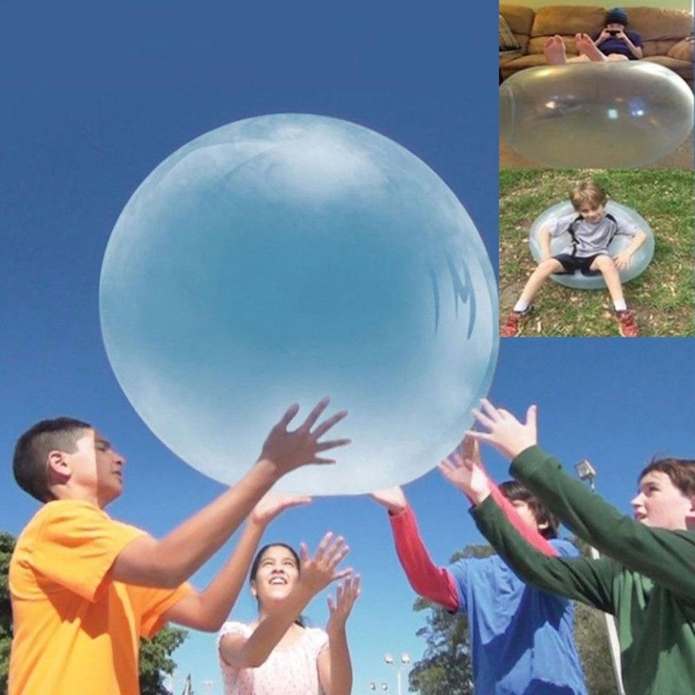 XL Outdoor Bubble Ball Super Inflatable Funny Children Adults Stress Reliever Play Toy Fun Party Game Gift For Kids