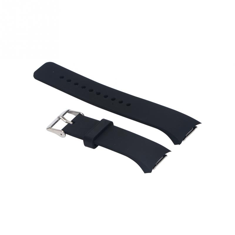 Silicone Watch Strap For Samsung For Galaxy Gear S2 R720 R730 Band Strap Sport Watch Replacement Bracelet 8 Colors For Choice &