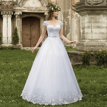 TPSAADE Ball Gown Wedding Dress With Floor Length