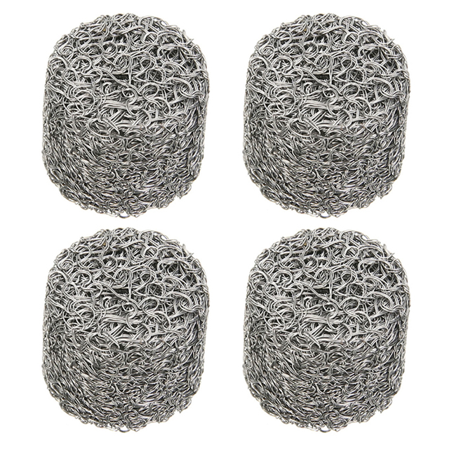 4Pcs Replacement Foam Lance Stainless Steel Mesh For Car Washer Pressure Foam Sprayer Filter