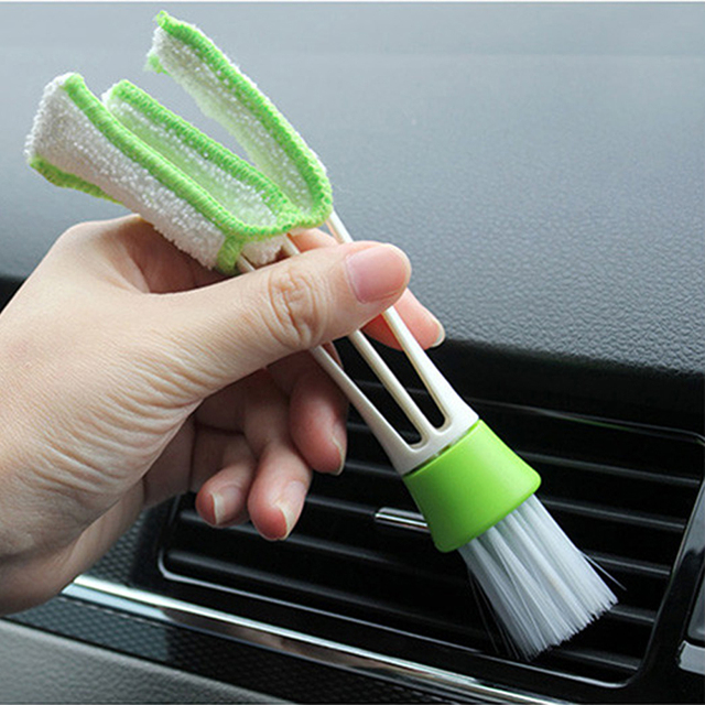 Car Cleaning Brush Tools Microfiber Duster Auto Cleaning Accessories ...