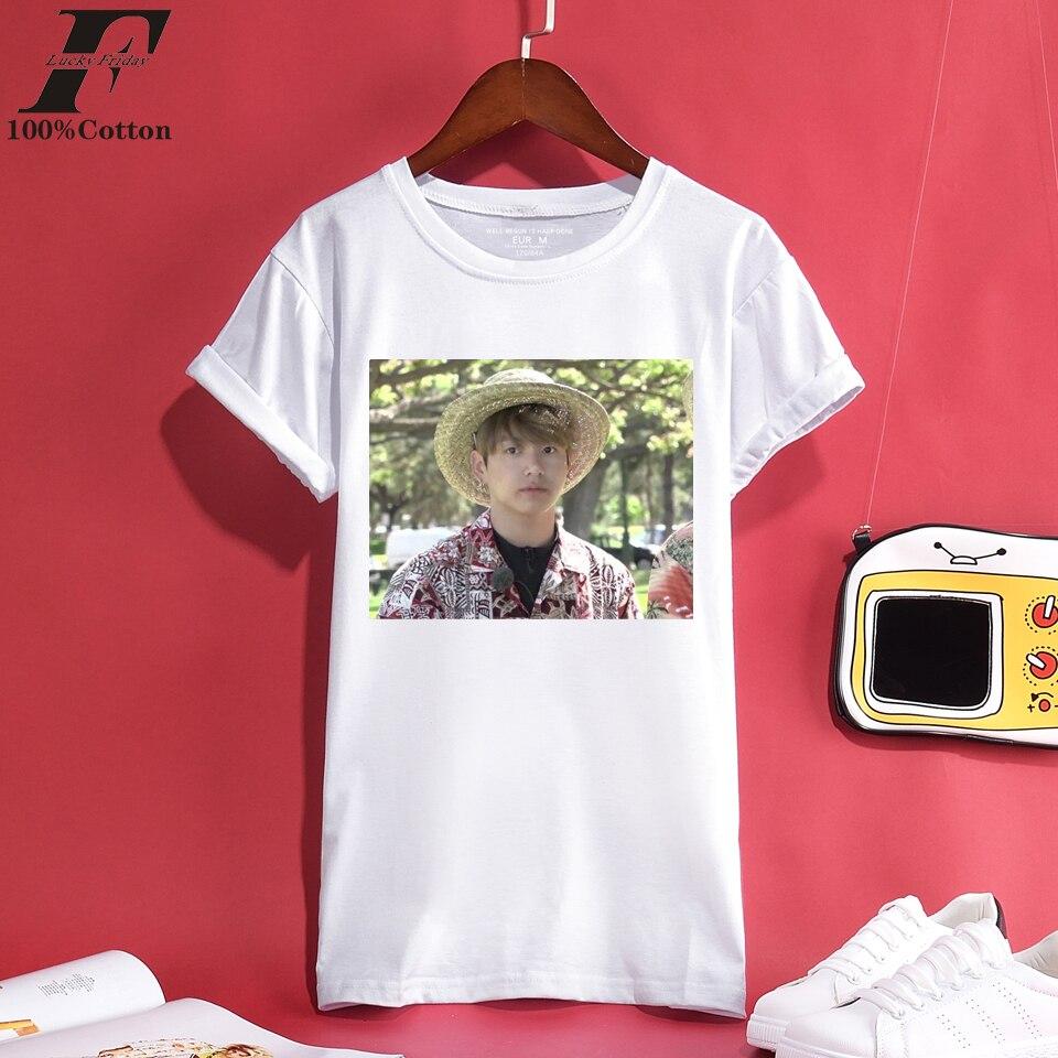 Karte Der Seele T Shirt Kpop Bangtan Boys T-shirt Jimin Suga V Jung Kook K-pop Hemd Frauen Harajuku Jin Rap Monster Weiß Tshirt Gepäck & Taschen