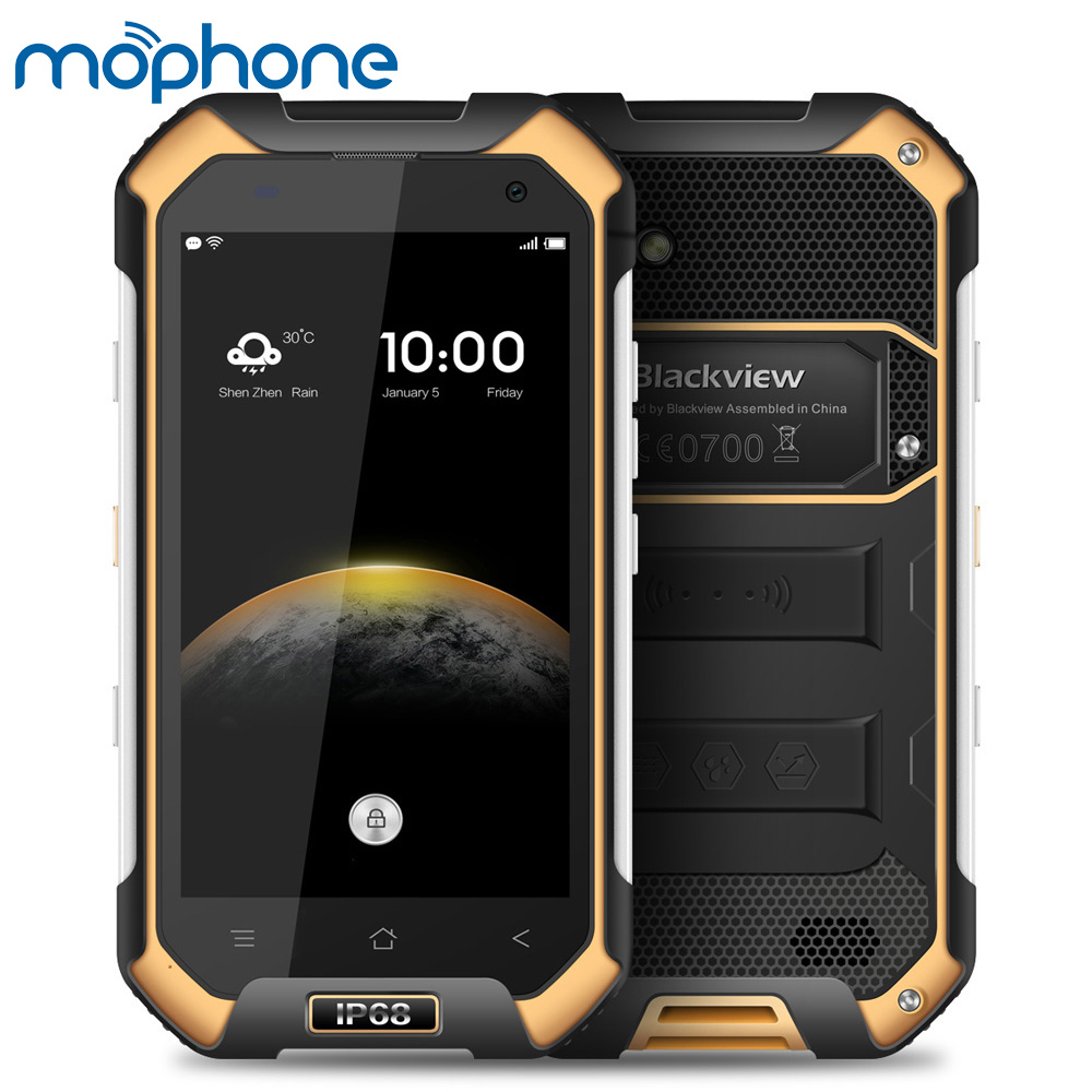 Camera Android Nfc Phones online buy wholesale android phone nfc from china blackview bv6000s 4g waterproof shockproof smartphone 6 0 mtk6737t quad core 2gb16gb 8mp