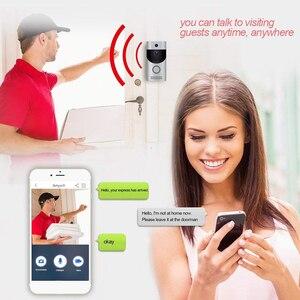 Image 3 - WIFI видео дверной звонок камера Интерком система беспроводной домашний ip дверной звонок телефон chime PIR 2 way аудио iOS Android питание от аккумулятора