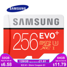 SAMSUNG Memory Card Micro SD 256GB 16GB 32GB 64GB 128GB SDHC SDXC Grade EVO+ Class 10 C10 UHS TF Cards Trans Flash Microsd New(China)