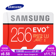 SAMSUNG Memory Card Micro SD 256GB 16GB 32GB 64GB 128GB SDHC SDXC Grade EVO+ Class 10 C10 UHS TF Cards Trans Flash Microsd New cheap TF Micro SD Card 16G 32G 64G 128G 256G(available capacity approximately 90 -93 ) C10 UHS-I Grade 15*11*1mm about 0 5g
