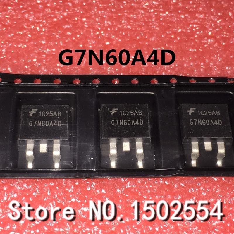 10PCS/LOT G7N60A4D TO-263 Automotive Computer Chip IC