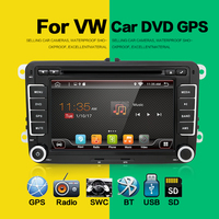 2 Din Android 6 0 Car Radio DVD Player For VW Passat POLO GOLF Skoda Seat