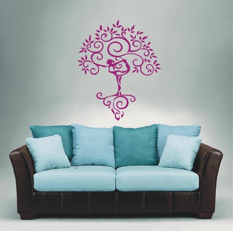 Wall Stickers Home Decor Art Vinyl Decoration Mural Decal Yoga - Zen wall decals