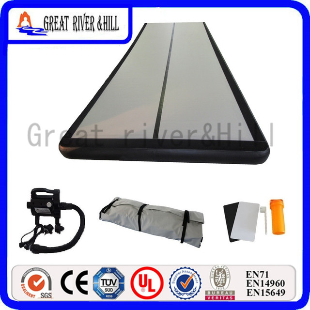 1bbb8aa45894 20ft cheap inflatable air track gym mats power tumbling track sports direct  training mat with free pump for sale 6m x 1.8m