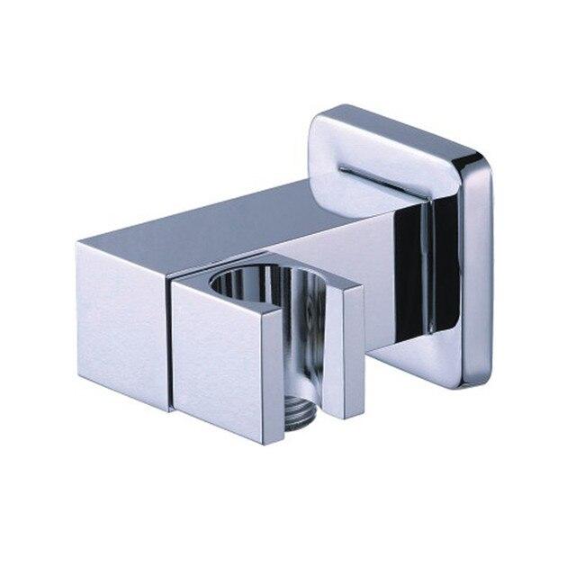 Chrome Bath Shower Components Brass Hand Shower Holder With G1/2 ...