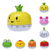 Timer Kitchen 60 Minute Cooking Mechanical Home Decoration 2018 Cute Animals fruits kitchen Decoration e74 cute 60 minute ladybug timer easy operate kitchen useful cooking timer ladybird shape