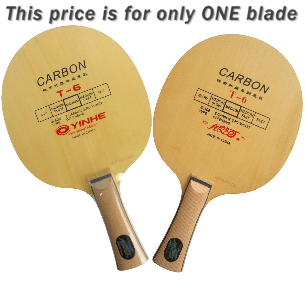 цены  Galaxy Milky Way Yinhe T-6 Carbon T 6 T6 OFF Table Tennis Blade for PingPong Racket