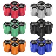 5 шт. автомобильный Стайлинг автомобильные клапаны для колесных шин шины воздушные колпачки для Kia Sportage для te Sorento Soul K2 K3 K4 K5 K3S KX5 авто аксессуары