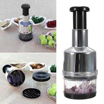 Kitchen accessories Garlic Crusher Practical Vegetable Garlic Presses Onion Chopper Kitchen Tool Gadget kitchen appliances