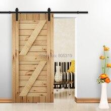 Sistema de Seguimiento de puerta de granero con puerta corrediza Vintage rústica
