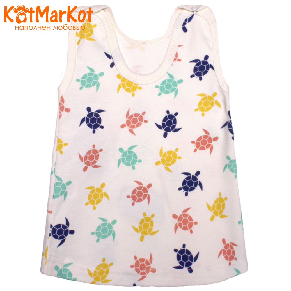 Фото - Dresses Kotmarkot 7031  baby dress for a girl tunic for newborns  summer  Cotton Casual plus lace insert floral tunic dress