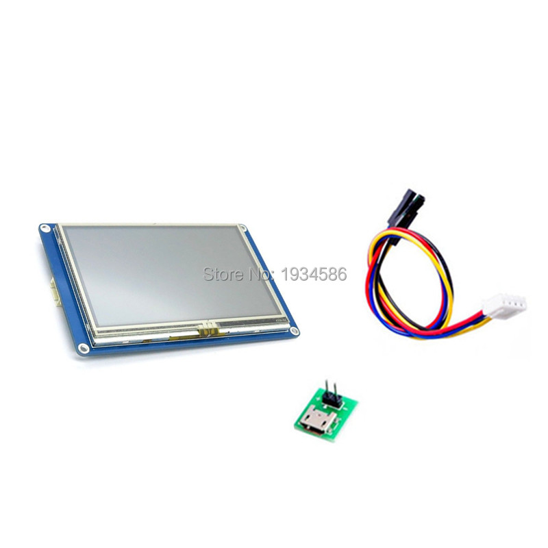 Nextion 4 3 4 3 Inch Serial USART HMI TFT LCD Display Module 480 272 Intelligent