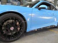 Углерода Волокно сбоку Юбки для женщин предназначен для Carrera 991 S 4S V Стиль