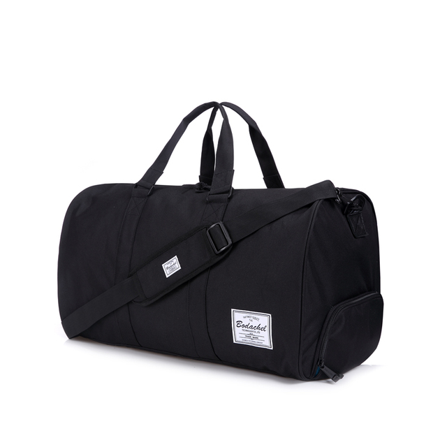 bc9e8032a25d Travel bag black big capacity herschel novel duffle oxford fabric one  shoulder cross-body handbag