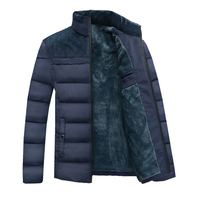 Men Winter Jacket Coats Fur Hood With Cashmere Plus Size 4XL Winter Thick Jacket High Quality