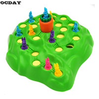 Funny Bunny Rabbit Competitive Game Toy Rabbit Cross-country Race Parent-child Interaction Desktop Game Adventure Rabbits Toys