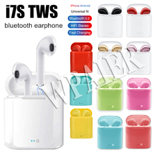 WPAIER I7S TWS Bluetooth Earphones Portable Wireless mini Earbuds With Charging Box Universal type