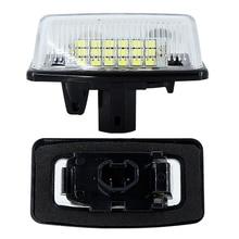 2 шт Подсветка регистрационного номера для Toyota Corolla Crown S180 Starlet EP91 Vios Previa ACR50, GSR50 Noah/Voxy номер лампа белый