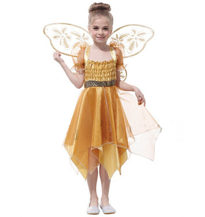 Halloween Party Outfits Elegant Angel Cosplay Costume Pretty Girl Evening Performance Clothes For Your Great Baby