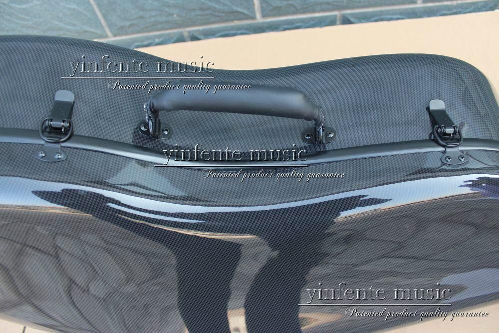 Neuer 4/4 Cellokoffer aus reiner Kohlefaser mit starkem Lichtrad - Musikinstrumente - Foto 6