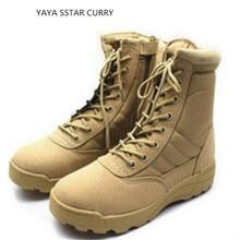 Новинка 2017 тактические ботинки дышащие высокой помощь военные сапоги на открытом воздухе Мужская обувь ботинки для операций в пустыне Пеший Туризм обувь