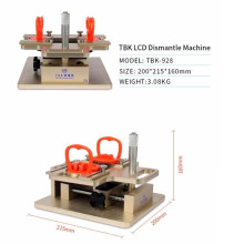 TBK-928 LCD dismantle machine A-frame Separator for samsung precisely adjust by micrometer