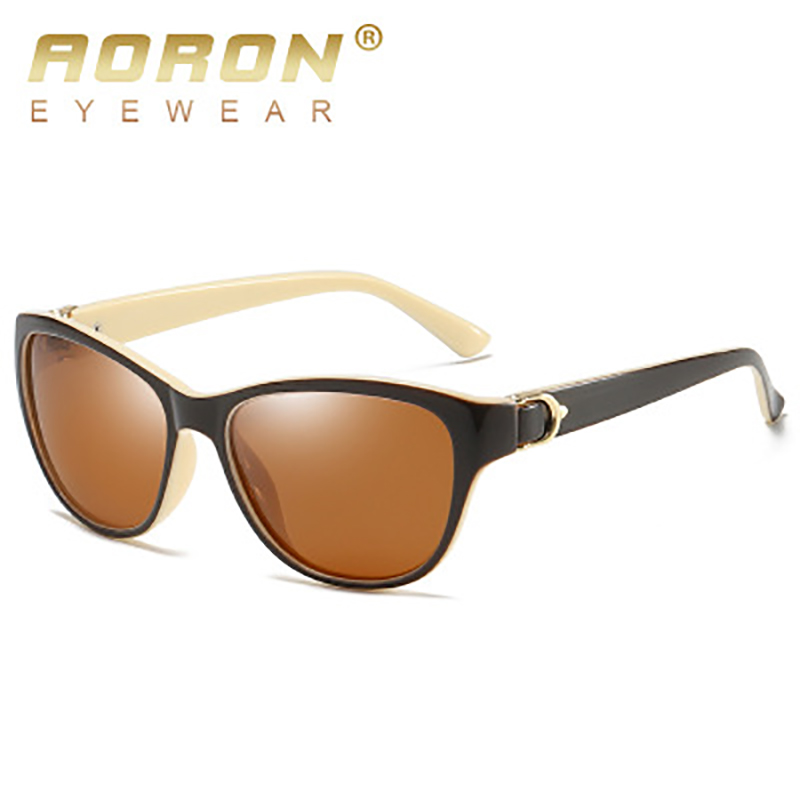 Polarized Sunglasses Classic Vintage Womens Eyewear Fashion Ladies Brand Designer UV400