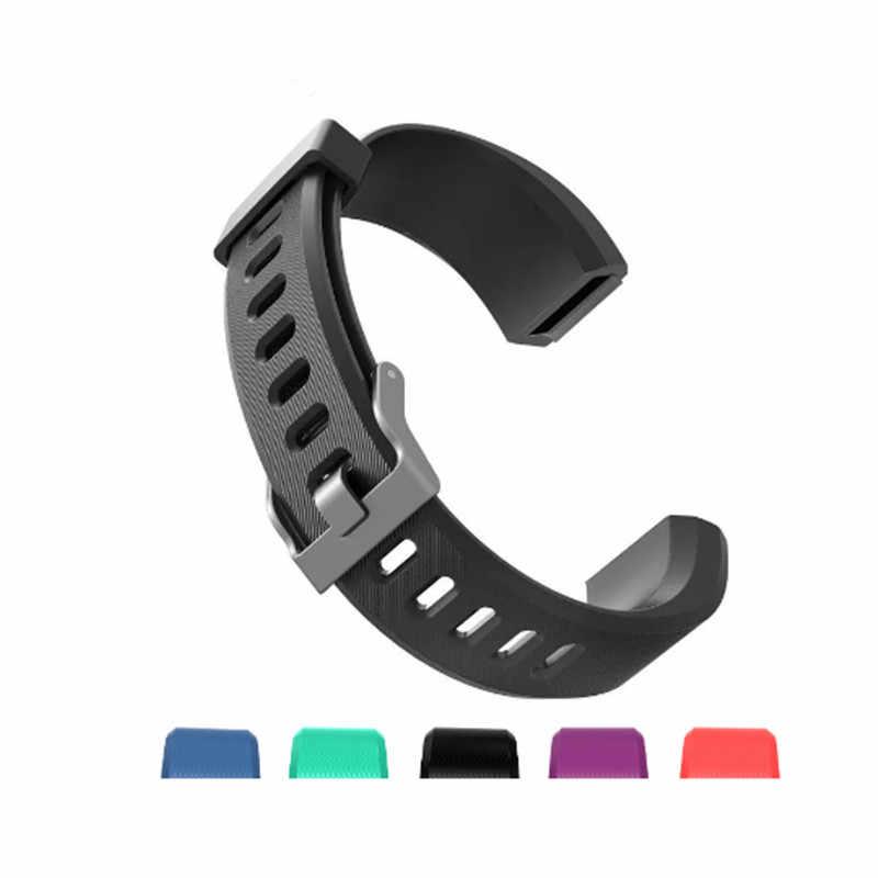 LYKRY 115 Plus remplacement bracelet bracelet de montre bracelet en Silicone HR montre-bracelet de rechange