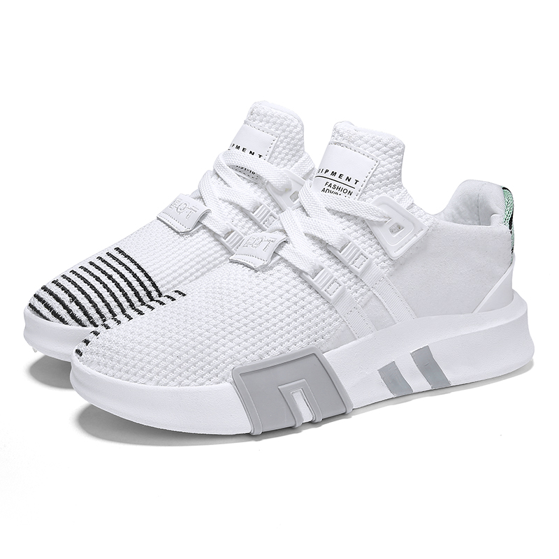 2018 New Spring Autumn Men running shoes air mesh Fly Weave Breathable Sneakers Comfortable Men Krasovki athletic Trainers